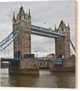 London Bridge 1 Wood Print