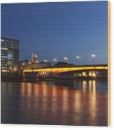 London Bridge Wood Print