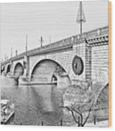 London Bridge Lake Havasu City Arizona Wood Print