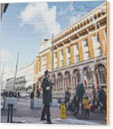 London Bubbles 11 Wood Print