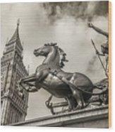 London Guardians Wood Print