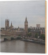 London Icons Wood Print