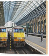London King's Cross Station 1 Wood Print