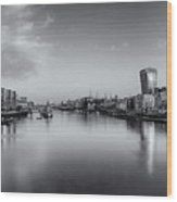 London Panorama Wood Print