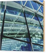 London Sky Garden Architecture 1 Wood Print