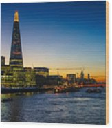 London South Bank 3 Wood Print