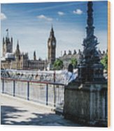 London Stranger Wood Print