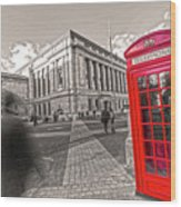 London Telephone 2 C Wood Print