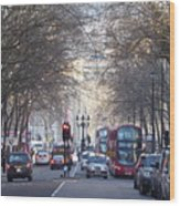 London Thoroughfare Wood Print