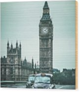 London Times Wood Print
