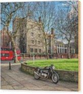 London Transport Wood Print