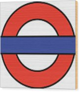 London Underground Blank Wood Print