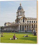 London University Greenwich Wood Print