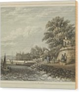 London West Cowes, Isle Of Wight Wood Print
