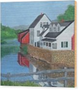 Londonderry Vermont Wood Print