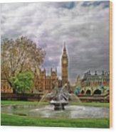 London's Big Ben  Wood Print