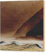 Lone House Kaikoura Wood Print