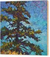 Lone Pine II Wood Print