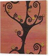 Loneliness Wood Print