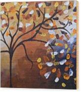 Lonely Breeze Wood Print