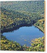 Lonesome Lake - White Mountains New Hampshire Usa Wood Print