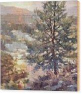 Lonesome Pine Wood Print