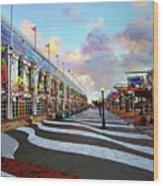 Long Beach Convention Center Wood Print