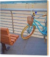 Long Beach Cruiser Wood Print
