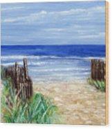Long Beach Island Nj Wood Print