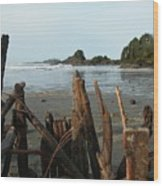 Long Beach, Tofino Wood Print