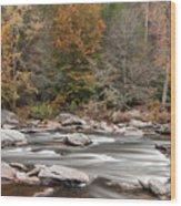 Chattooga River 14 Wood Print
