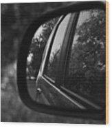 Long Drive Wood Print