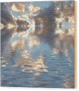 Long Horizon Wood Print