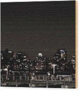 Long Island City, Ny. Wood Print