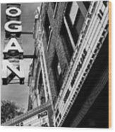 Long Live Logan Logan Theatre Wood Print