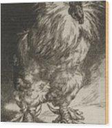 Long Live The Tzar Vive Le Tzar Felix Bracquemond 1833 - 1914 Wood Print