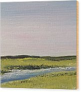 Long Marsh Wood Print