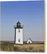 Long Point Lighthouse Wood Print