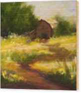 Long Road Home Wood Print