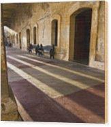 Long Shadows In San Cristobal Wood Print