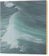 Long Wave Wood Print