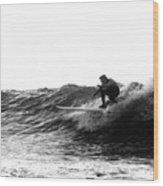 Longboard Wood Print by Rick Berk