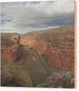 Longs Canyon 0145 Wood Print