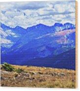 Longs Peak Rocky Mountain National Park Wood Print
