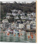 Looe Harbour - Cornwall Wood Print