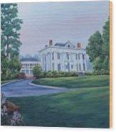 Lookaway Hall Wood Print