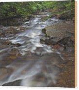 Looking Downstream Wood Print