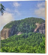 Looking Glass Rock Close Up Wood Print