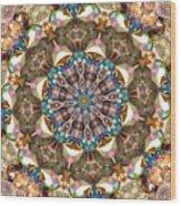Looking Through The Kaleidoscope Wood Print