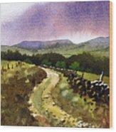 Looking Towards Pole Moor Wood Print